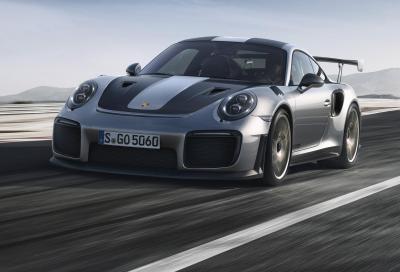 Porsche 911 GT2 RS: forza bruta
