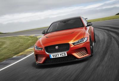 Jaguar XE SV Project 8: la berlina è monstre
