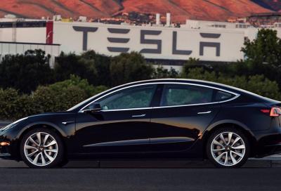 Tesla Model 3, prodotto il primo esemplare