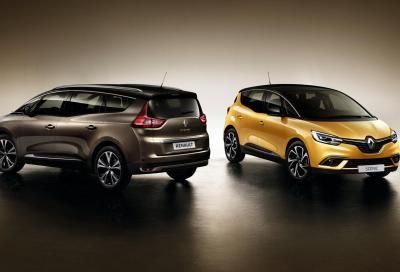Renault Scénic Hybrid Assist: si riducono consumi ed emissioni