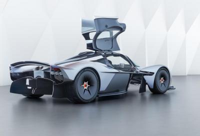 Aston Martin Valkyrie: F1 con la targa