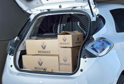 Renault Zoe Van: il carico è green