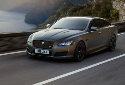 Jaguar XJ MY18: la XJR575 al top