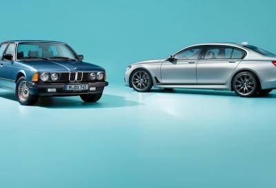 Bmw Serie 7 40 Years Edition: è qui la festa