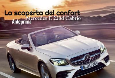 La Mercedes Classe E Cabrio è in copertina di Automobilismo di agosto