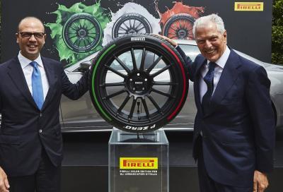Pirelli fa viaggiare il Tricolore nel mondo