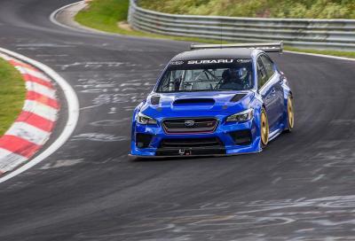Subaru WRX STI Type RA NBR: regina del Ring