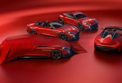 Aston Martin Vanquish Zagato: famiglia al completo