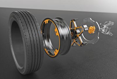 Continental New Wheel Concept: la ruota del futuro