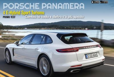 La Porsche Panamera Sport Turismo è in copertina di Automobilismo di settembre
