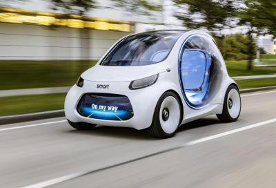 Smart Vision EQ fortwo: la city car del futuro