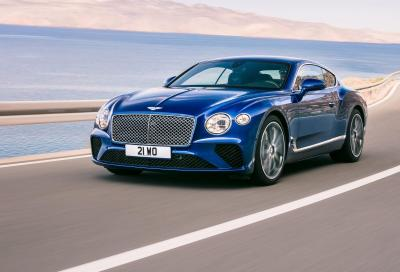 Bentley Continental GT 2018: aria nuova
