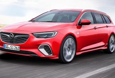 Opel Insignia GSi Sports Tourer: lo sport si fa spazio
