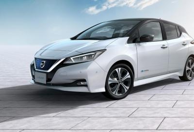 Nissan Leaf 2018: più strada e più potenza