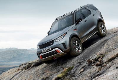 Land Rover Discovery SVX: più fuori che strada
