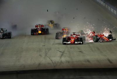 F1: brilla la (buona) stella di Hamilton a Singapore