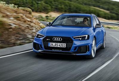 Audi RS4 Avant: wagon d'attacco
