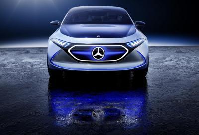 Mercedes EQ A Concept: compatta a batteria