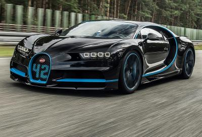 Bugatti Chiron: 0-400-0 km/h da record