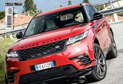 La Range Rover Velar è in copertina di Automobilismo di ottobre