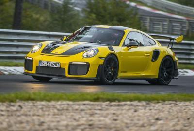 Porsche 911 GT2 RS: record al Ring