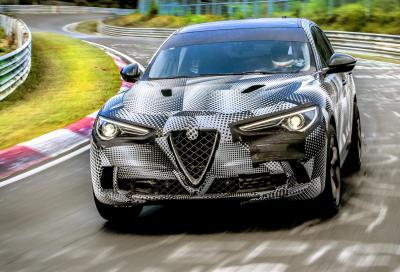 Alfa Romeo Stelvio Quadrifoglio, il Ring è mio