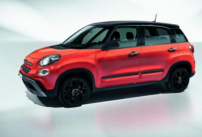 Fiat 500L City Cross: look off road