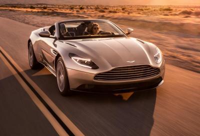 Aston Martin DB11 Volante: apriti cielo