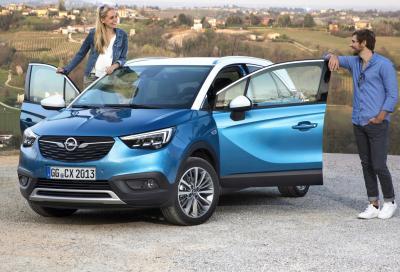 Opel Crossland X GPL Tech: si è gasata