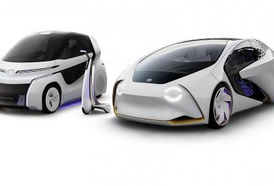 Toyota Concept-i Ride: hi-tech per i nonni