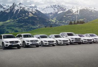 Incentivi Mercedes e smart per una mobilità più pulita