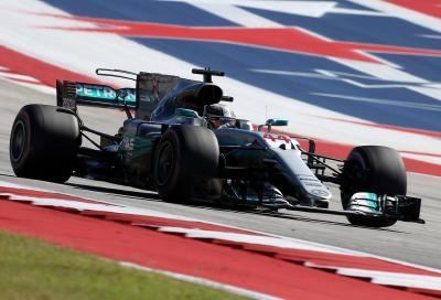 F1, Hamilton trionfa ad Austin. Mercedes campione