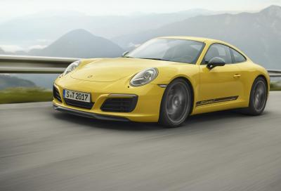 Porsche 911 Carrera T: light and furious