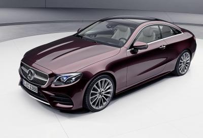 Mercedes Classe E Coupé e Cabrio: che mild hybrid sia!