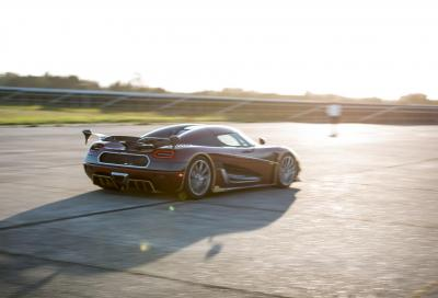 Koenigsegg Agera RS: è l'auto più veloce al mondo