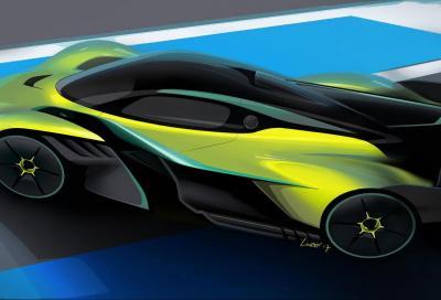 Aston Martin Valkyrie AMR Pro: la F1 per i track day