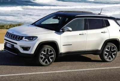 Jeep Compass Limited Winter: omaggio all'inverno