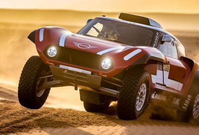 Mini, arriva il buggy per la Dakar