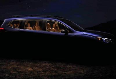 Subaru Ascent, sette posti e un cuore nuovo
