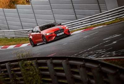 Jaguar XE SV Project 8: record al Ring