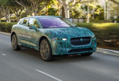 Jaguar i-Pace: collaudi completati