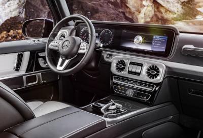 Mercedes-Benz Classe G 2018: svelato l'abitacolo