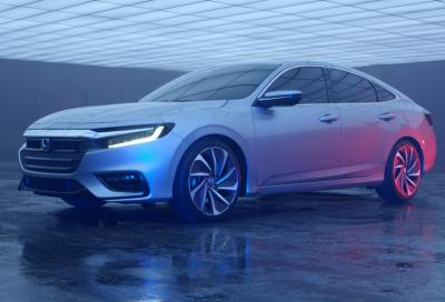 Honda Insight 2019, debutta a Detroit