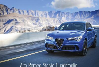 La Stelvio Quadrifoglio è in copertina di Automobilismo di gennaio
