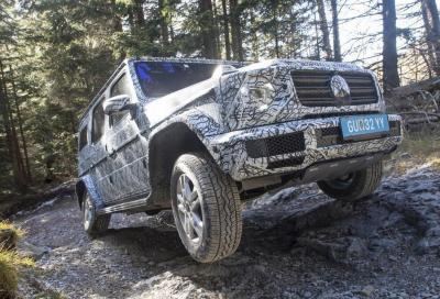 Mercedes Classe G 2018: tutte le novità a Detroit