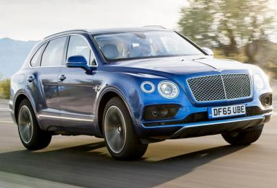 Bentley Bentayga: a Ginevra la ibrida plug-in