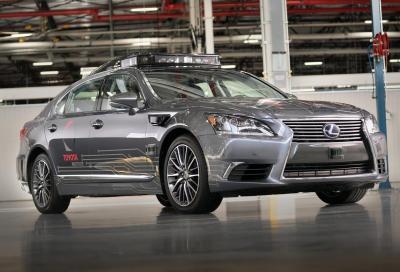 Toyota e Lexus: al CES 2018 con la guida autonoma