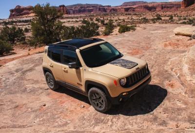 Jeep Renegade 2018: la tecnologia è di casa
