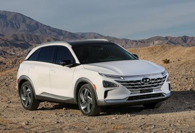 Hyundai Nexo: idrogeno e guida autonoma