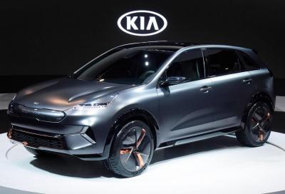 Kia Niro EV Concept: ambasciatrice del prossimo futuro